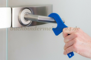 Touch Free Door opener, blue<br>156 mm total length