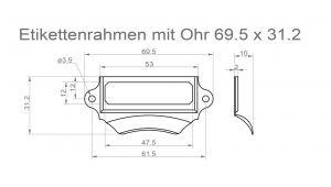 muschelgriffe buchbindermeister24. Black Bedroom Furniture Sets. Home Design Ideas