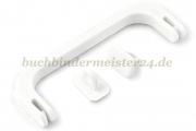 Case handles, white<br>118 mm total length