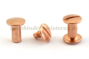 Binding screws<br>15 mm capacity<br>copper plated