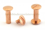 Binding screws<br>20 mm capacity<br>copper plated
