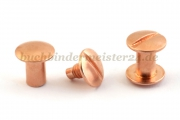 Binding screws<br>10 mm capacity<br>copper plated