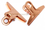 Paper clips<br>54 mm width<br>copper plated