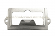 Handles with label holder<br>65x31mm<br>for labels 46x25 mm
