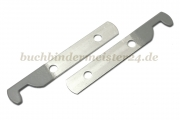 Suspension rail ends<br>70 mm long<br>the ends are grey coated