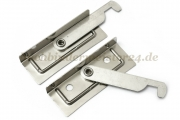 Suspension rail ends<br>foldable<br>nickel plated<br>right