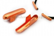 T-ends for<br>elastics and cords<br>copper plated