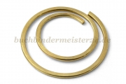 Paperclips round<br>20 mm diameter<br>brass plated