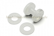 Washers for binding screws<br>transparent