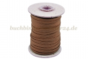 Flat elastic, brown<br>5 mm width<br>20 meters on a spool
