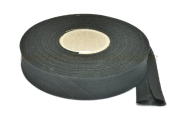 Bias binding tape, black<br>20 mm width<br>20 meters on a spool