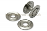 Washers for binding screws<br>with recess, nickel plated