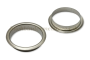 Finger ring eyelets<br>made of metal<br>nickel plated
