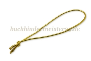 Elastic cord loops<br>100 mm<br>gold